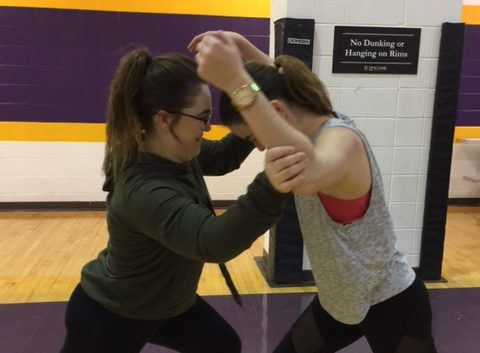 Students learn self-defense as part of Sexual Assault Awareness Week