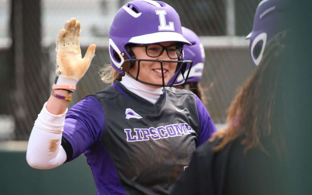 Lady Bisons Softball handily defeats Belmont in five innings this week