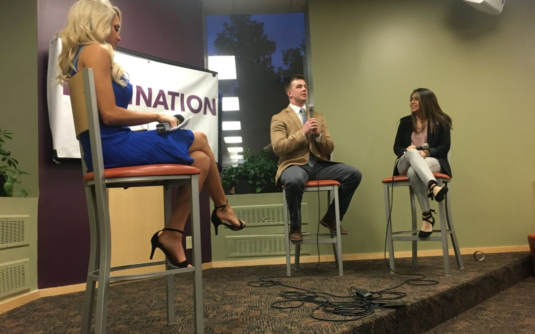 Presidential candidates Drake, Sparks make their cases at SGA debate