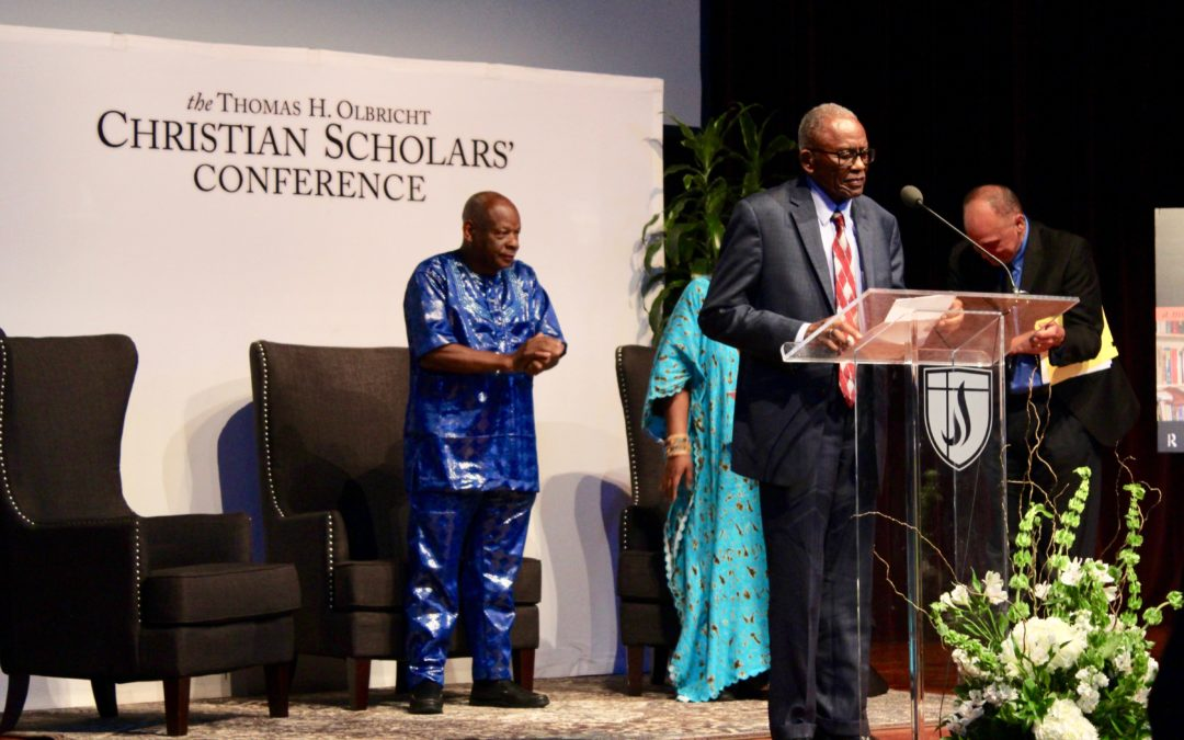 Dr. Molefi Kete Asante and others speak during annual Christian Scholars' Conference