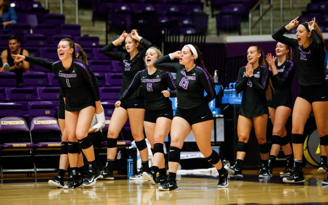 Bisons volleyball sweeps home-court LUV Invite