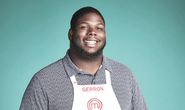 Gerron Hurt swapped out textbooks for kitchen utensils in MasterChef victory