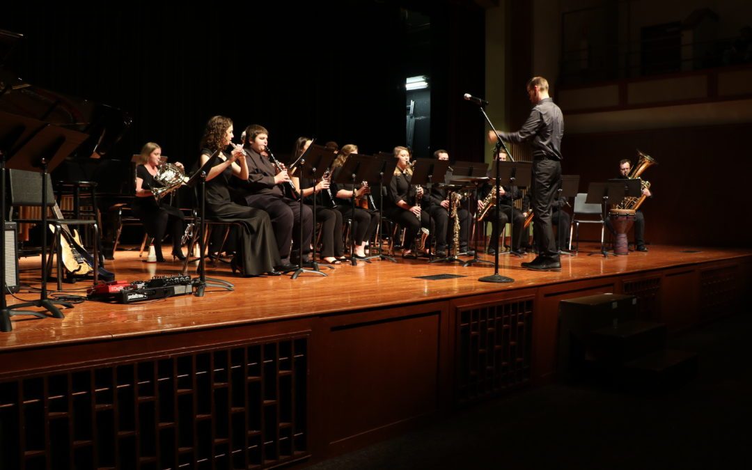 Wind Ensemble wows in first concert of the year