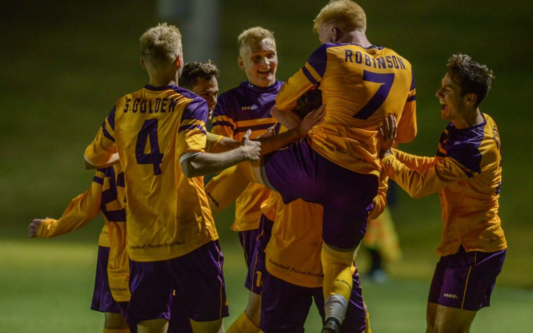 Men's soccer clinches ASUN Championship berth against Liberty
