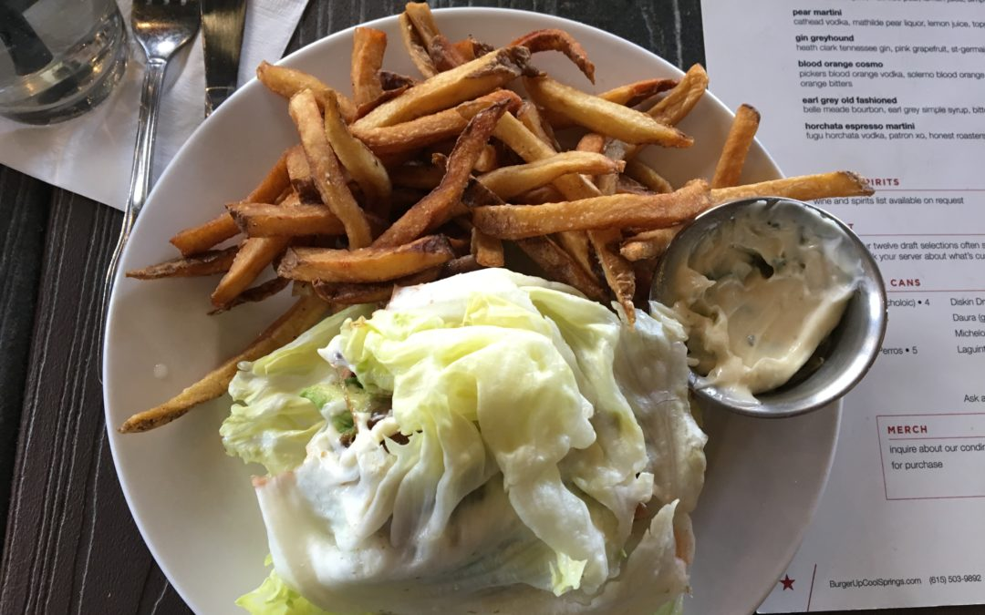 GLUTEN-FREE FRIDAY: 12 South's Burger Up offers tasty gluten-free & vegetarian options