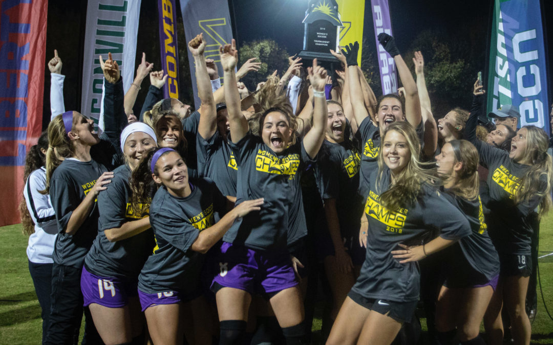 HISTORY MADE: Lady Bisons win first-ever ASUN tournament title