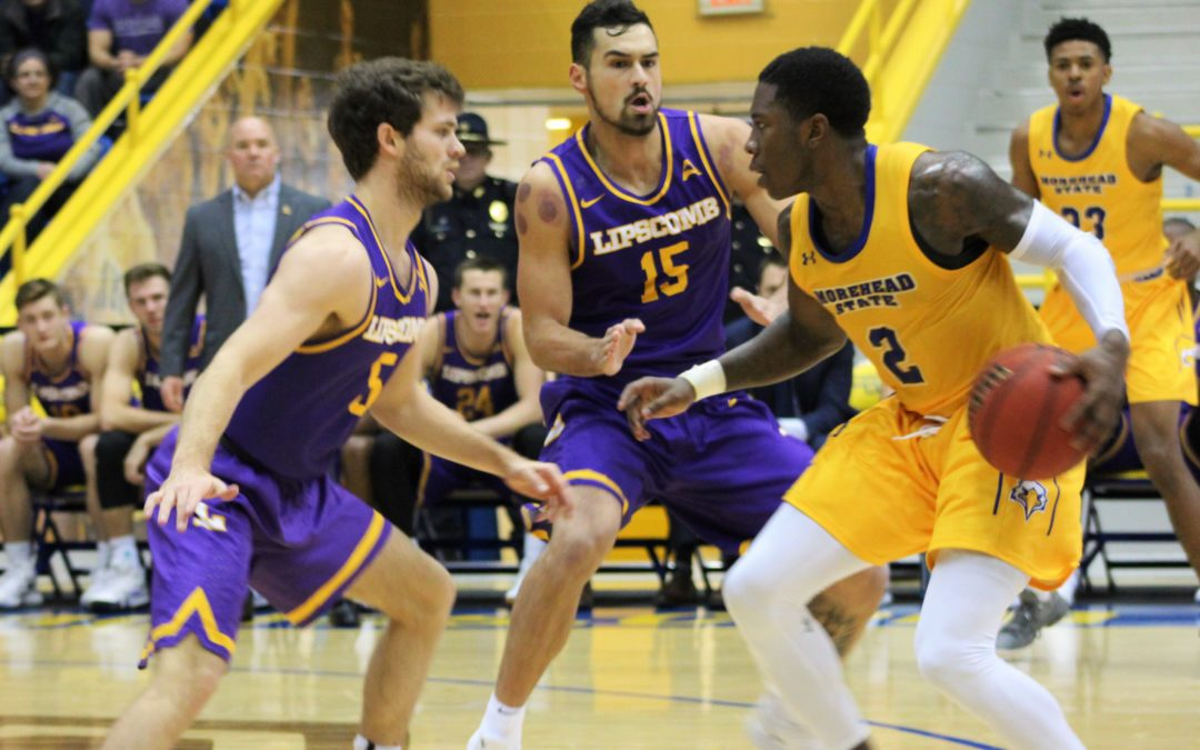 11 scorers get involved as Bisons blowout Morehead State, 87-55