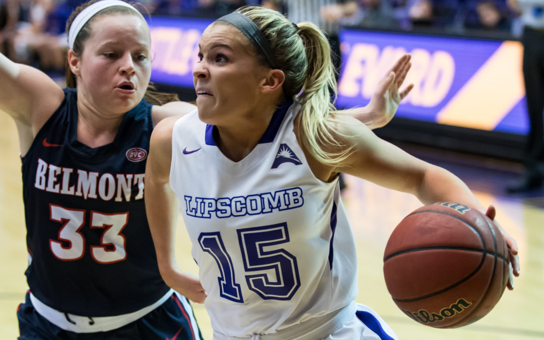 Belmont women roll over Lipscomb in Battle of the Boulevard