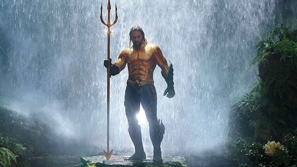 Aquaman splashes into box office with tsunami of coolness that is Jason Mamoa