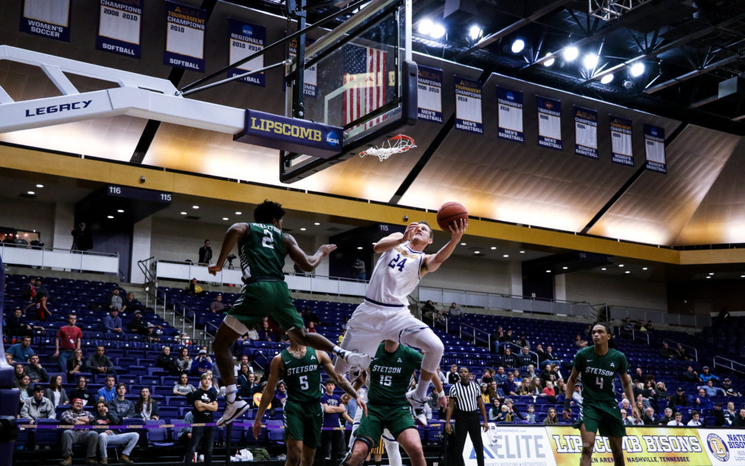 Lipscomb vs. Stetson men's basketball gallery