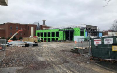UPDATE: Lipscomb's Shinn center continues construction, while new garage awaits groundbreaking