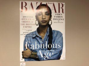 Sade Adu magazine cover