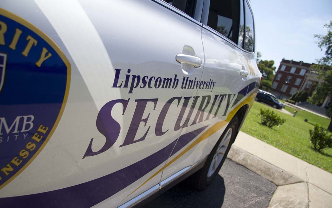 Lipscomb security reviews funding needed for manpower, technology