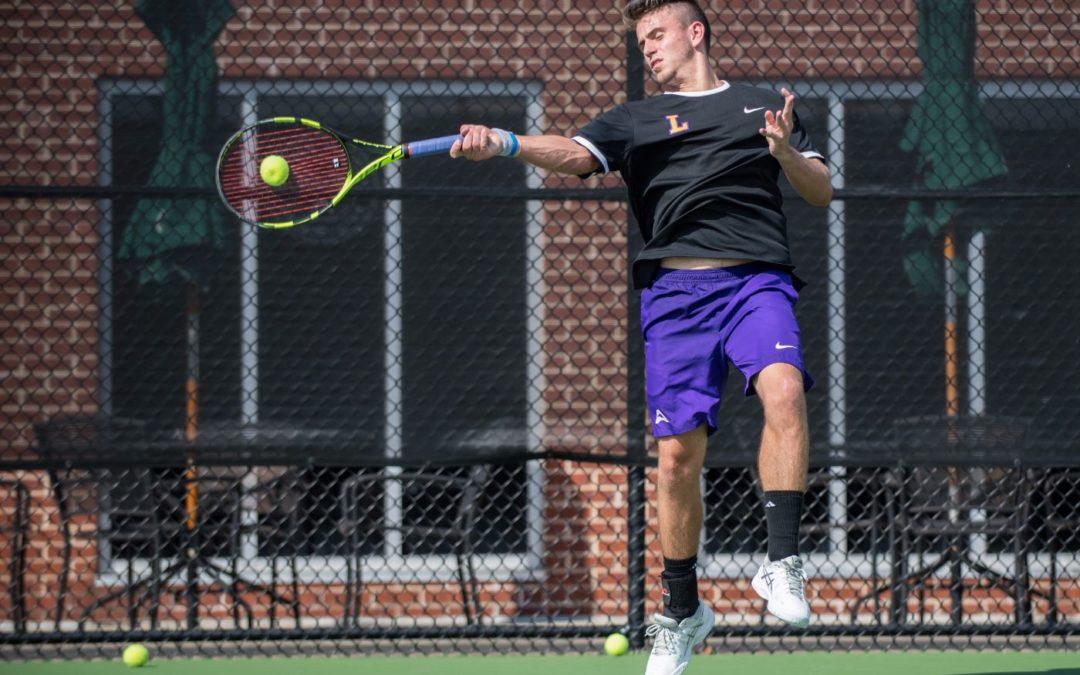 Men's tennis leads entire match in 5-2 win over North Dakota