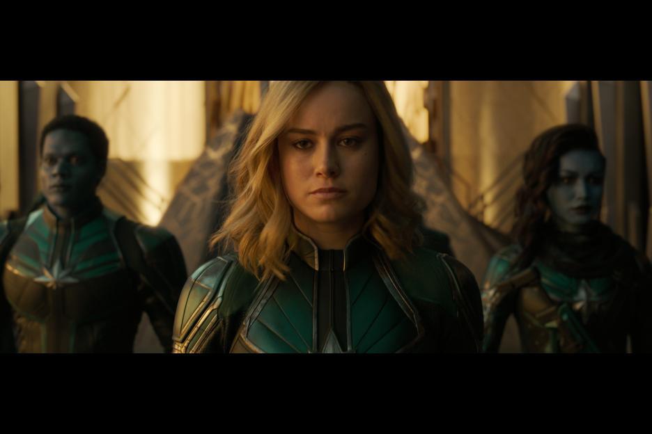 Brie Larson Surprises Captain Marvel Fans on Opening Weekend