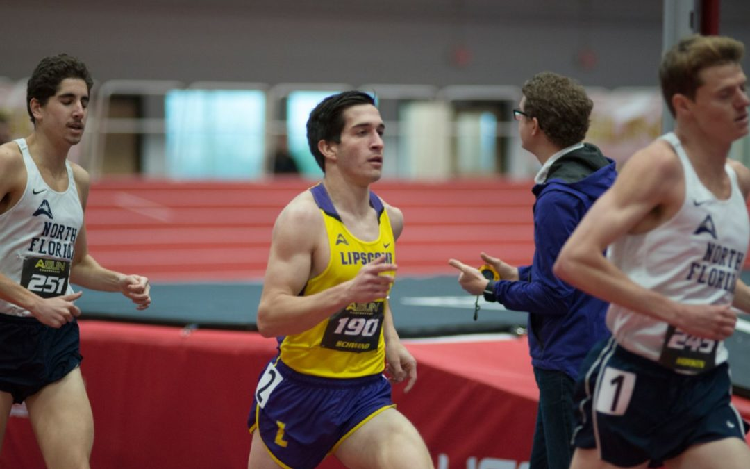 Lipscomb track star Jonathan Schwind overtakes opponents, aims for nationals