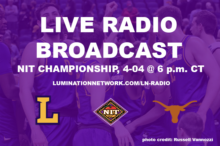 Lumination Radio will broadcast NIT championship game against Texas