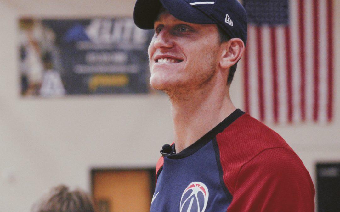 Garrison Mathews makes campus return for 'Pro Skills Mini Camp'