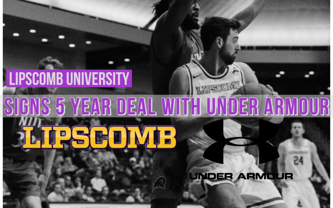 Lipscomb signs deal with athletic apparel giant Under Armour
