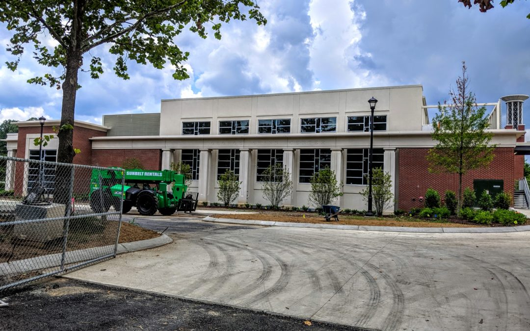 Update: Shinn Center nearly complete, new garage still awaits groundbreaking