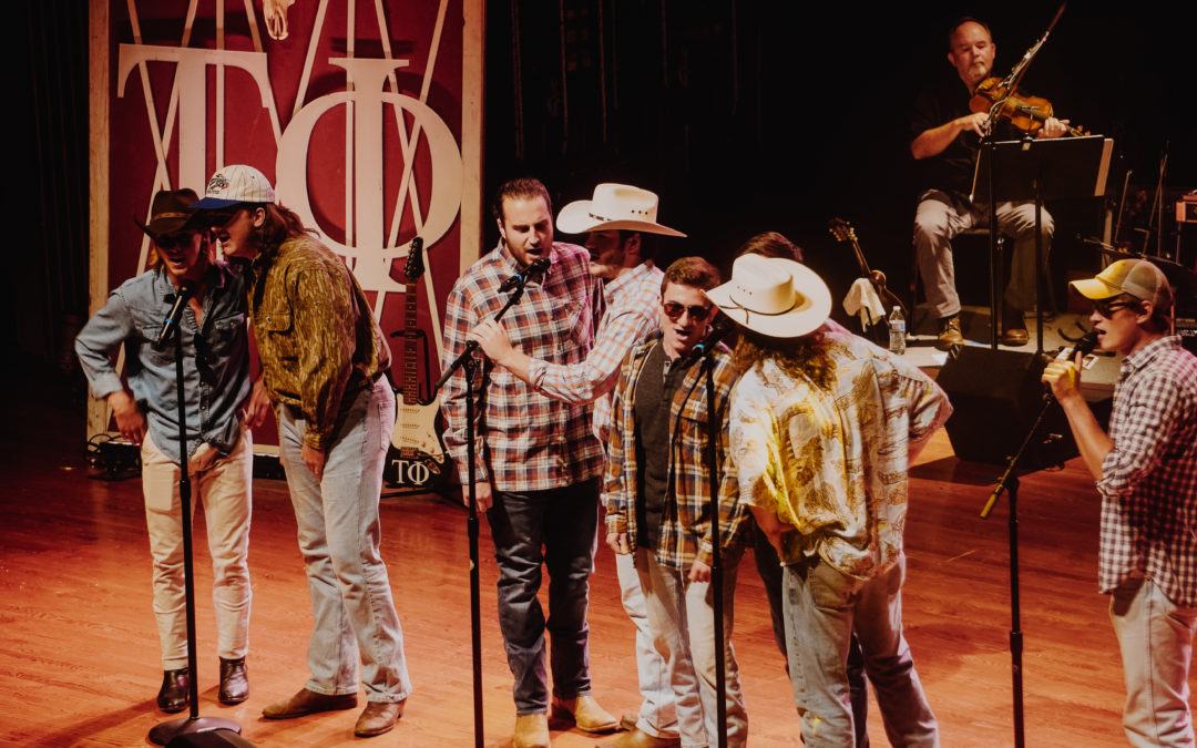 Tau Phi, country music, and cowboy hats to help veterans' causes