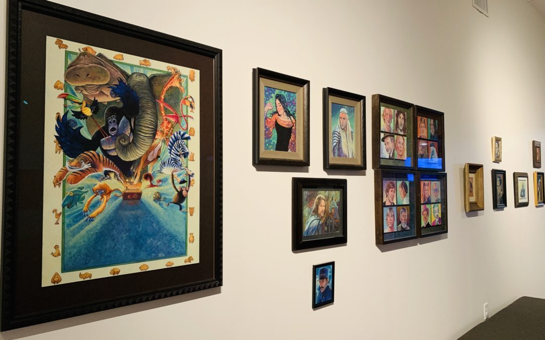 New Exhibit 'Animators After Dark' features local legends art work