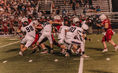 Lipscomb Academy Mustangs trample over the Page High School Patriots 24-14