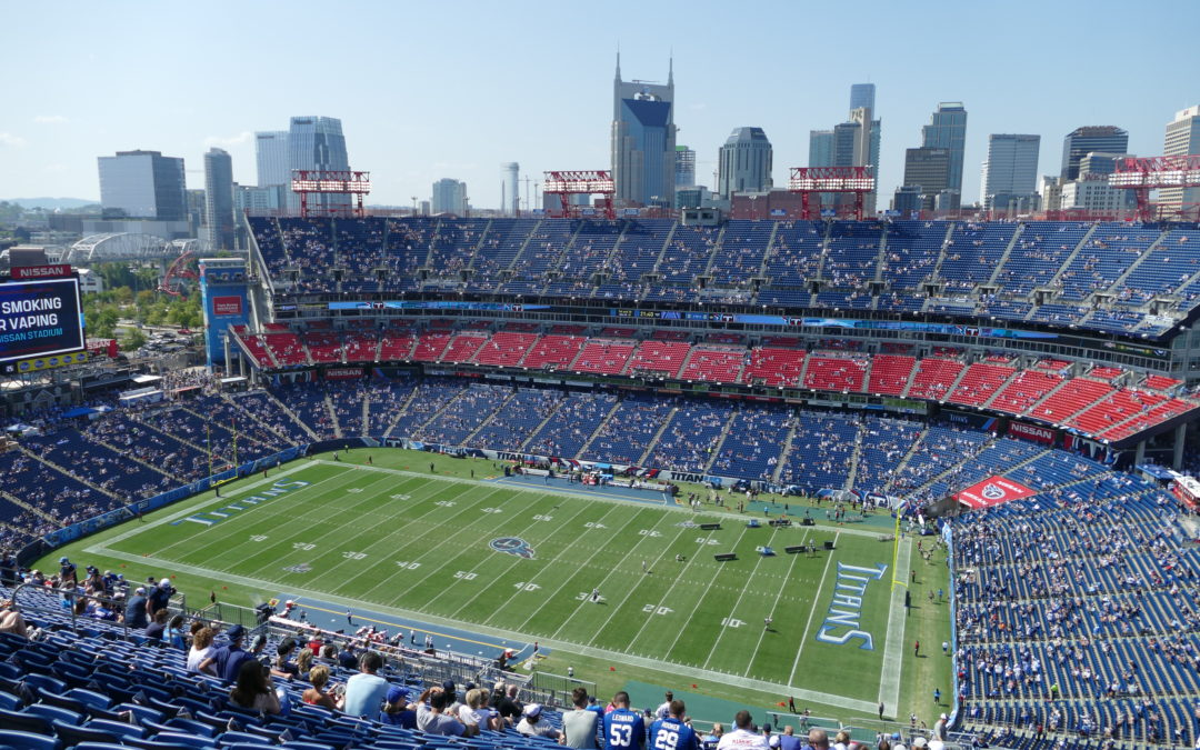 Fire erupts on the field before Titans' game vs. Colts