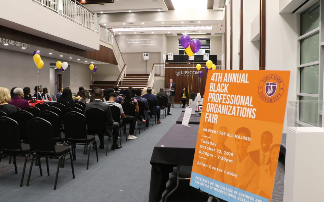 Black Professional Organizational Fair Connects Lipscomb's African-American Students to Future Job Opportunities