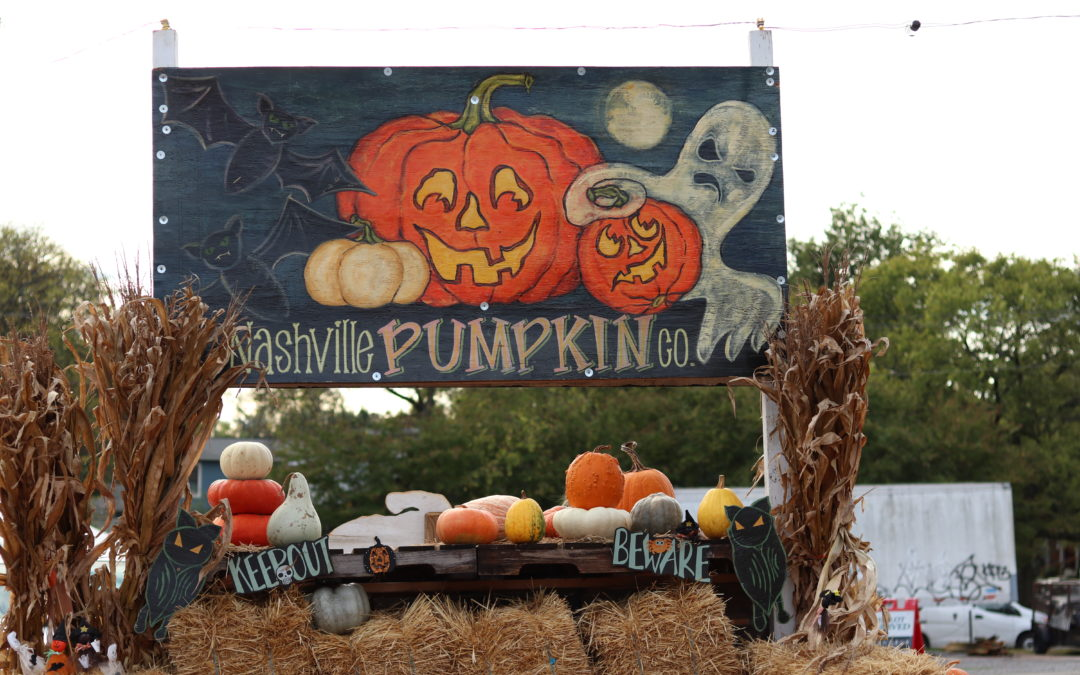 Cool weather heralds the start of pumpkin season in Nashville