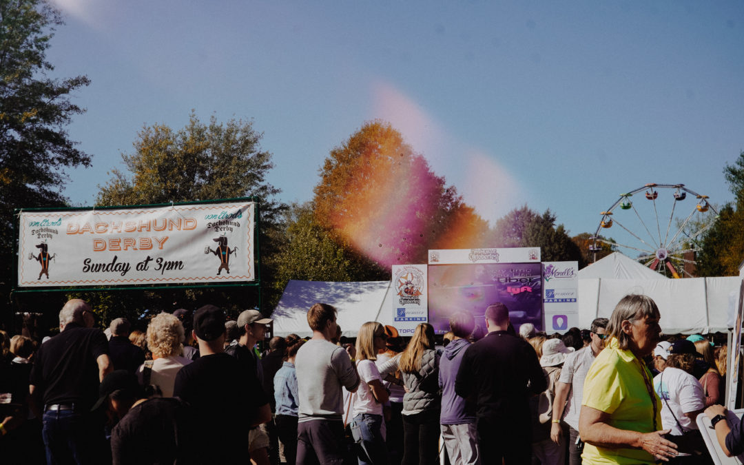 Dachshund-racing, ax-throwing among Oktoberfest highlights