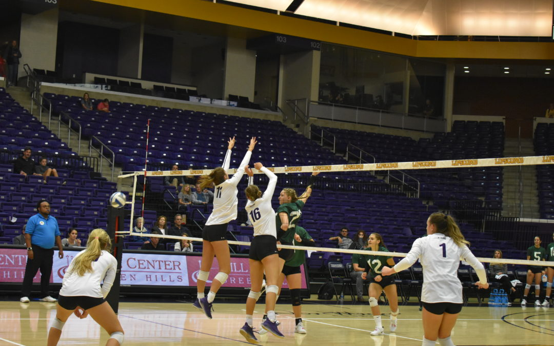 Lipscomb Volleyball Kuper sets personal best in tough loss against Stetson 3-2