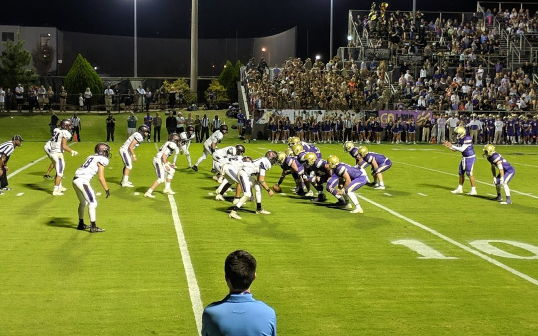 Turnovers, CPA Rushing Attack Knocks Off Lipscomb Academy 28-7