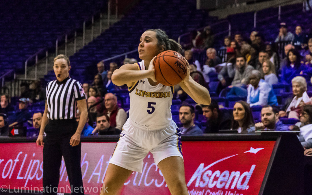 Lady Bisons basketball win with a pair of free throws and a three