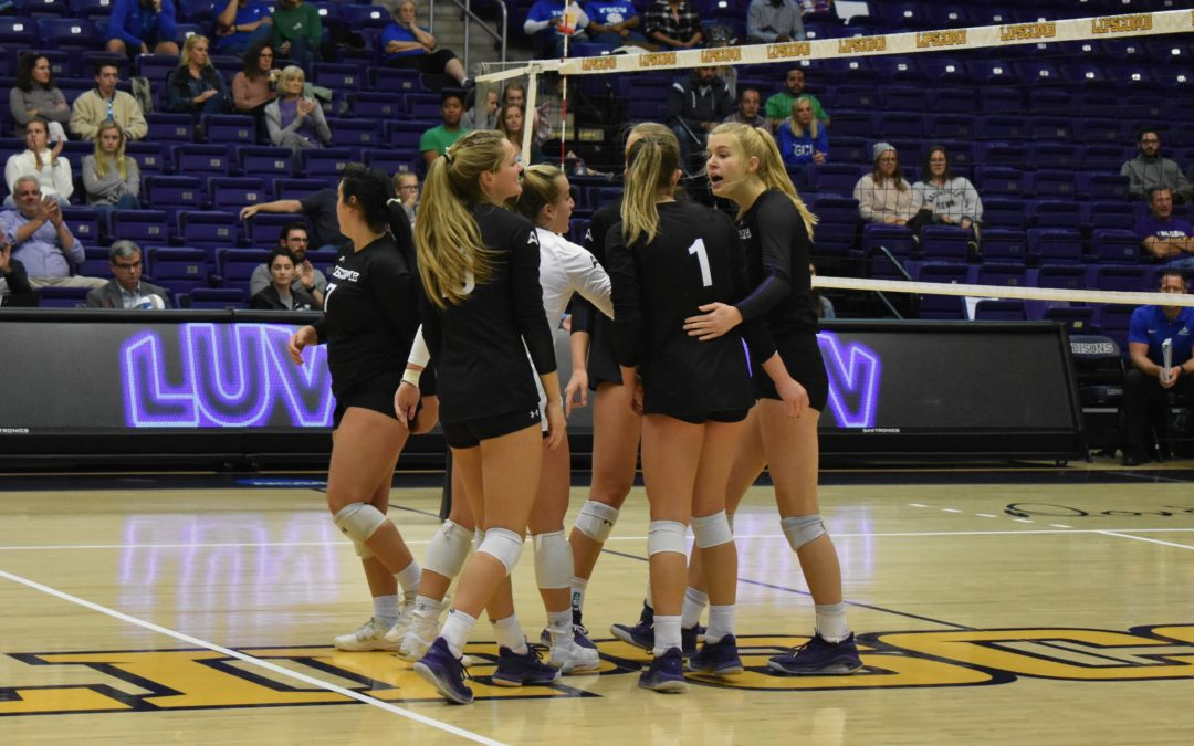 Volleyball team defeated in final home match of the year