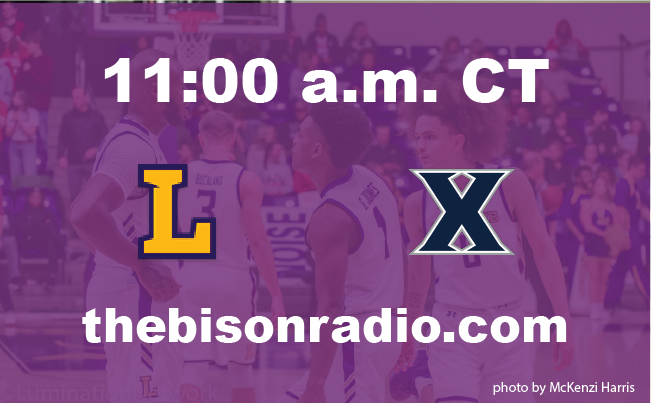 RADIO ALERT: Lipscomb-Xavier game will be streamed live on The Bison