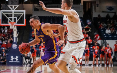 A hard loss for Bisons Basketball in 146th Battle of the Boulevard