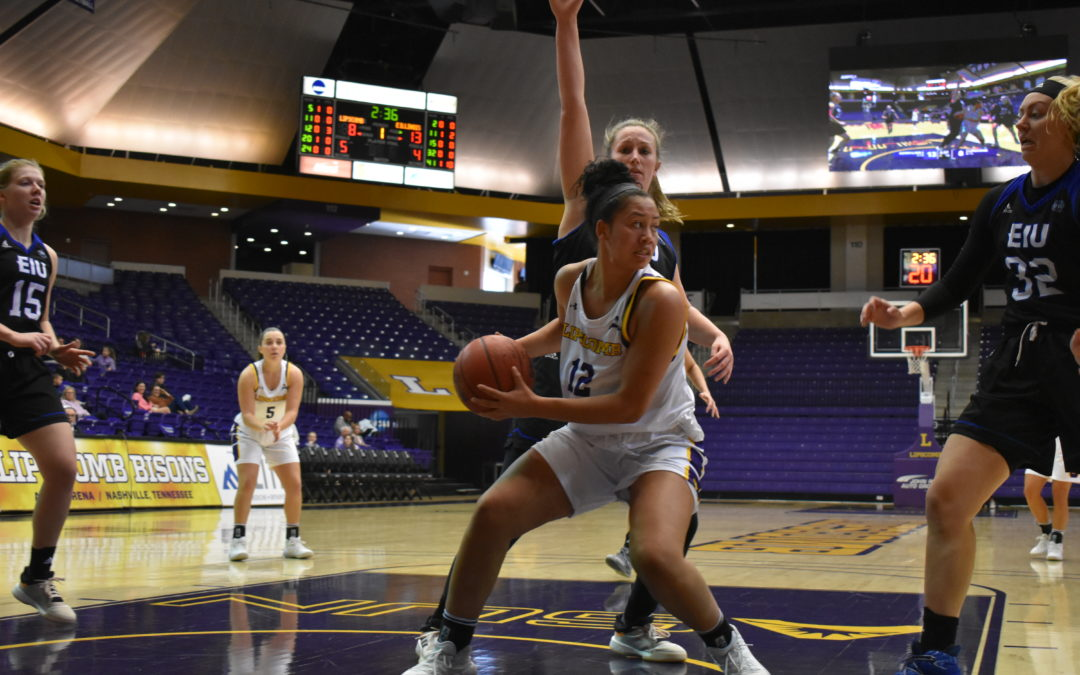Lipscomb women's basketball team falls to Eastern Illinois without Harrison and Shelton