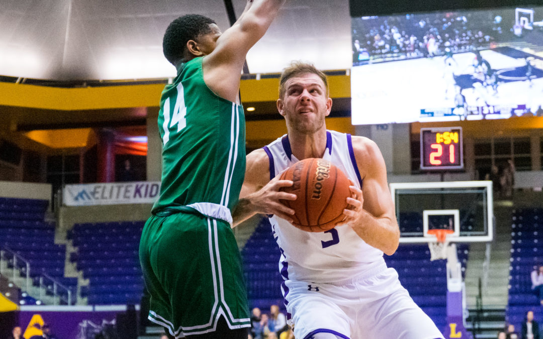 Bisons Basketball falls short to Jacksonville in overtime 85-89
