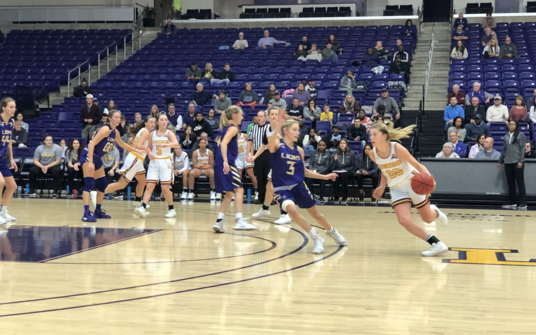 Lady Bisons fall to North Alabama Lions in ASUN home opener
