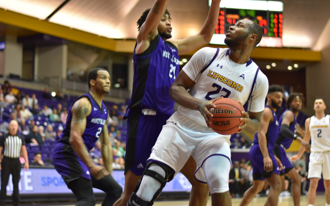 North Alabama breaks losing streak with win over Lipscomb