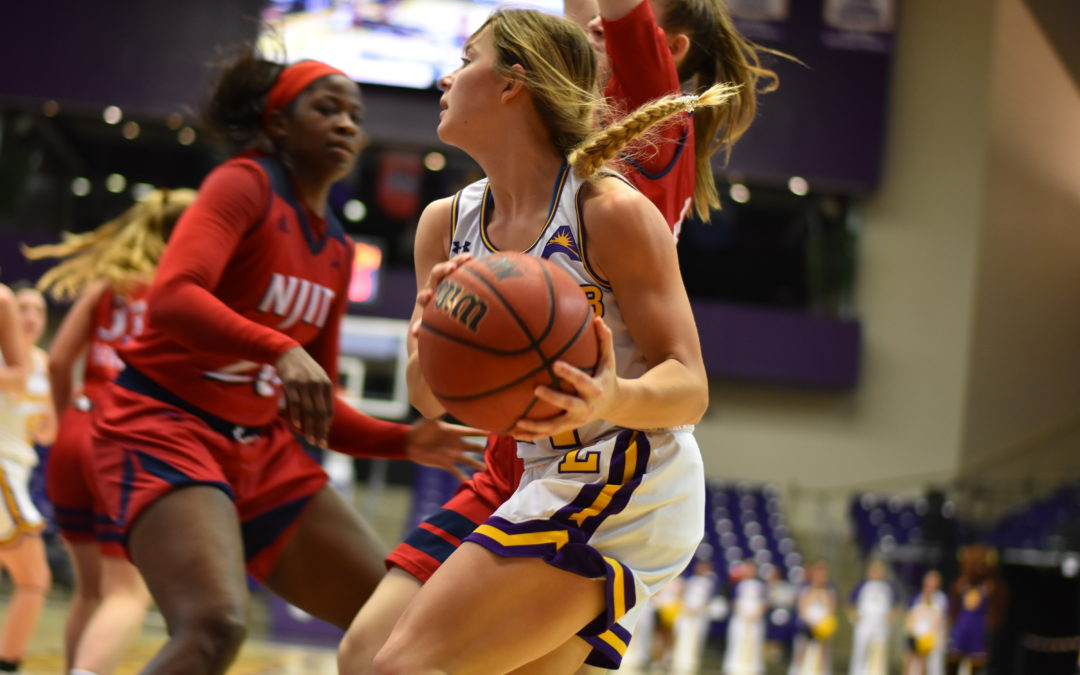 Lady Bisons pull off win against Highlander in crucial ASUN seeding game