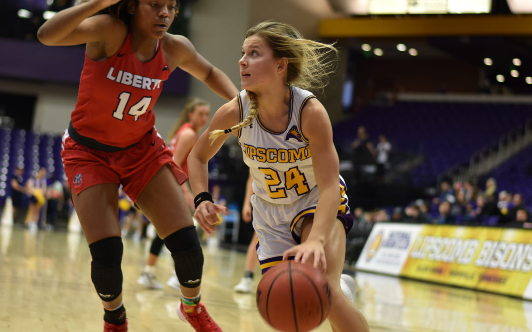 Lady Bisons fall to Liberty Flames 79-70 on senior night