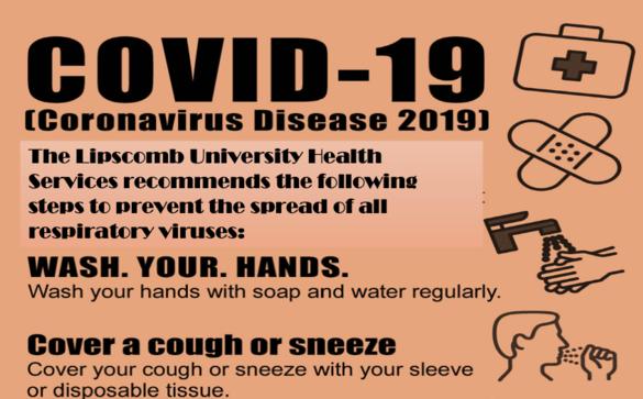 Lipscomb Health Services offers Coronavirus Prevention Tips
