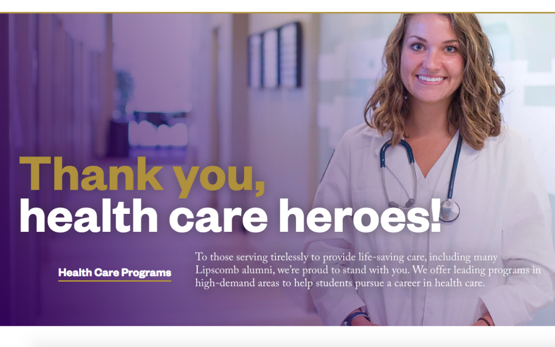 Lipscomb nursing alumni and students become health-care heroes in front lines of the pandemic