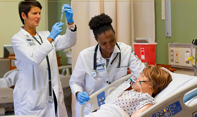 Virtual learning instead of hands-on experience offers new challenges for nursing students