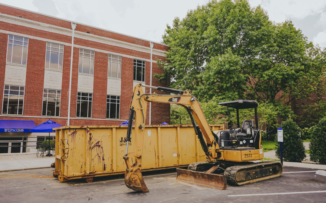 Parking Garage finished, Fanning gets new AC, Elam renovations and more