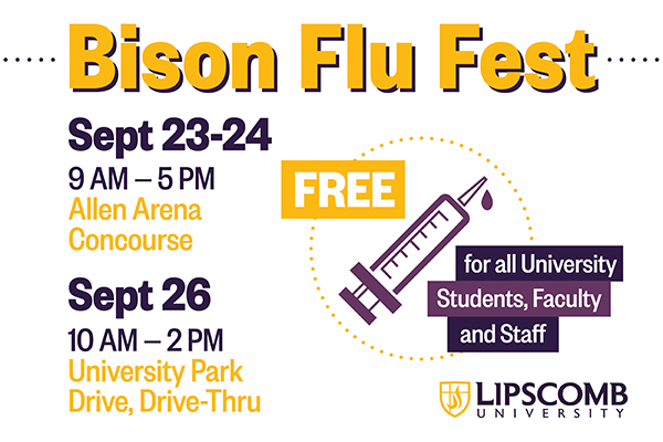 Lipscomb provides students with free flu shot