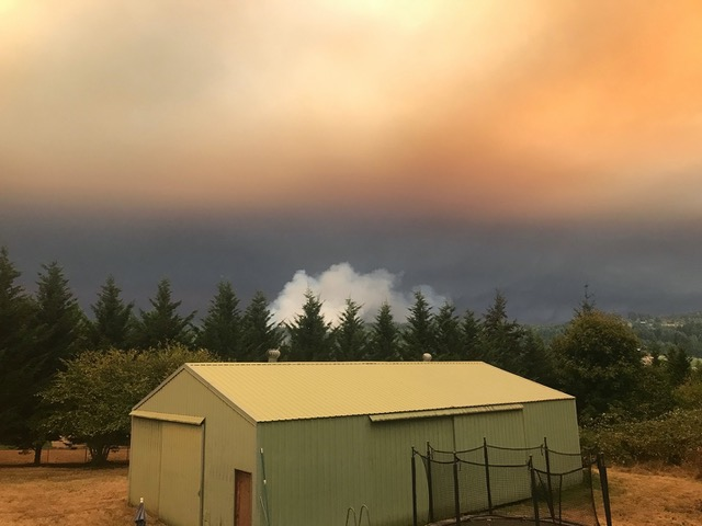 Lipscomb students affected by fires ravaging the West Coast