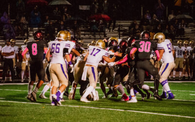 Mustangs Edge Out Lions 20-14 after Rain Delays